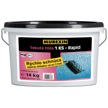 MUREXIN 1KS-RAPIS tekutá fólia 7kg rýchlo schnúca, 1-zložková, elastická, modrá