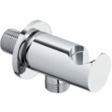 CONCEPT 300 výpust vody 64,5mm, guľatá, s držiakom na sprchu, kov, chróm