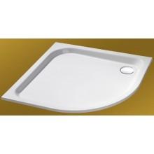 CONCEPT HÜPPE Verano sprchová vanička 900mm štvrťkruh, biela