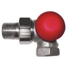 """HERZ TS-90-V CD termostatický ventil 1/2"""" trojosový, s plynulým prednastavením"""