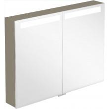 CONCEPT VERITY DESIGN zrkadlová skrinka 1000x149x746,5mm s osvetlením, Santana Oak