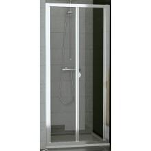 SANSWISS TOP LINE TOPK sprchové dvere 1000x1900mm, zalamovacie, matný elox/sklo Durlux