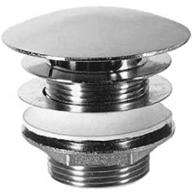 DURAVIT prietokový ventil 50 mm neuzatvárateľný chróm 0050241000