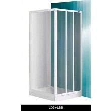ROLTECHNIK PROJECT LD3/900 sprchové dvere 900x1800mm posuvné, biela/damp