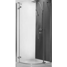 ROLTECHNIK ELEGANT LINE GRL1/900 sprchový kút 900x2000mm ľavý, štvrťkruhový, s jednokrídlovými otváracími dverami, bezrámový, brillant/transparent