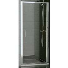 SANSWISS TOP LINE TOPP sprchové dvere 1000x1900mm, jednokrídlové, matný elox/sklo Cristal perly