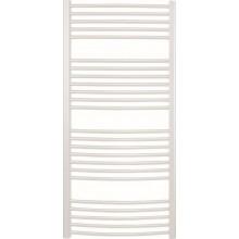 CONCEPT 100 KTOE radiátor kúpeľňový 450x1700mm elektrický prehnutý, biela