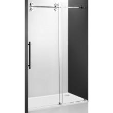 ROLTECHNIK Kinedoor LINE KID2/1300 sprchové dvere 1300x2000mm posuvné pre inštaláciu do niky, bezrámové, brillant/transparent