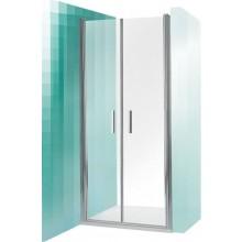 ROLTECHNIK TOWER LINE TCN2/900 sprchové dvere 900x2000mm dvojkrídlové, brillant/transparent