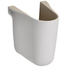 KOLO REKORD polostĺp pre umývadlá, biela