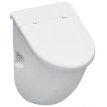 LAUFEN CASA odsávací urinál 305x285mm s otvormi pre poklop, bez mušky, biela 8.4014.1.000.000.1