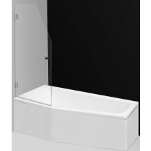 ROLTECHNIK SCREEN MINI vaňová zástena 660x1400mm, obojstranne otvárateľná, brillant/transparent