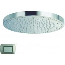 CRISTINA SANDWICH COLOURS sprcha hlavová s osvetlením, antikalk-systém, priemer 24cm light white