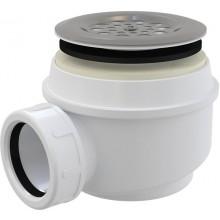 CONCEPT vaničkový sifón Ø60mm, s nerezovou mriežkou, chróm