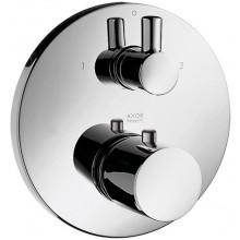 AXOR UNO 2 termostatická batéria pod omietku s uzatváracím a prepínacím ventilom chróm