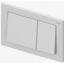 TECE BASE WG904/RG3 ovládacie tlačidlo 214x145mm, pre WC, dvojmnožstevné splachovanie, biela
