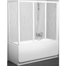 RAVAK APSV 70 vaňová stena 670x705x1370mm biela / transparent 95010102Z1