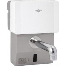 """AZP BRNO AUM 6 umývadlová batéria G1/2"""" s prietokovým ohrievačom CLAGE, automatická, nerez"""