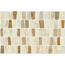 MARAZZI LITHOS PEBBLE mozaika 25x38cm prerezávaná, beige