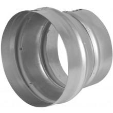 HACO RK 100/125 ventilačný systém 100/120mm, redukcia, kov