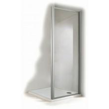 CONCEPT 100 sprchová stena 800x1900mm bočná, strieborná/plast matný