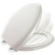 MKW UNIBASIC WC sedátko 378x405-445mm, plastové uchytenie, biela