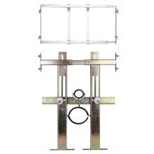 SANELA SLR03N montážny rám 420-625x250mm, predstenový, pre pisoár so splachovačom umiestneným nad pisoárom