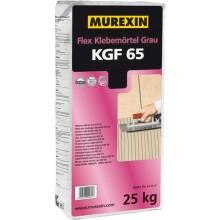 MUREXIN FLEX KGF 65 malta lepiaca 25kg, flexibilná, vodovzdorná, mrazuvzdorná, na tenkovrstvové lepenie, šedá