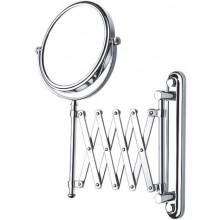 NIMCO kozmetické zrkadlo 150x150mm nástenné, chróm