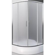 ROLTECHNIK SANIPRO PORTLAND NEO/800 sprchový kút 800x1650mm štvrťkruhový, s posuvnými dverami, brillant/matt glass