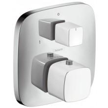 HANSGROHE PURAVIDA termostatická batéria pod omietku s uzatváracím a prepínacím ventilom biela/chróm