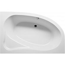 RIHO LYRA BA68 vaňa 153,5x100,5cm asymetrická, ľavá, akrylátová, biela