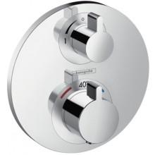HANSGROHE ECOSTAT S termostatická batéria pod omietku chróm