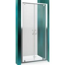 ROLTECHNIK LEGA LINE LLDO2/1000 sprchové dvere 1000x1900mm dvojkrídlové na inštaláciu do niky, rámové, brillant/transparent