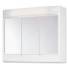 JOKEY SAPHIR zrkadlová skrinka 60x18x51cm plast, biela/bahama béžová