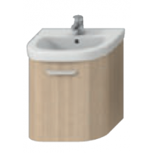 DEEP BY JIKA skrinka pod umývadlo 630x470x498mm, jaseň / jaseň