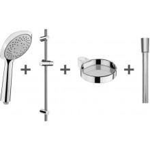 JIKA CUBITO-N sprchový set, s tyčami, chróm