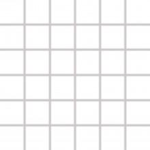 RAKO COLOR TWO mozaika 30x30cm, lepená na sieťke, biela