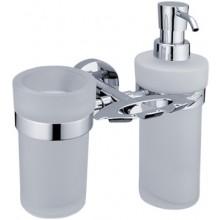 NIMCO UNIX držiak kefiek, poháre a dávkovače 195x190x130mm chróm 1305731W-26