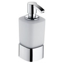 KEUCO ELEGANCE dávkovač na penové mydlo 220ml, s držiakom, chróm / matné sklo