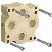 KLUDI predĺženie pre podomietkové teleso 30mm pre Flexx.Boxx, mosadz