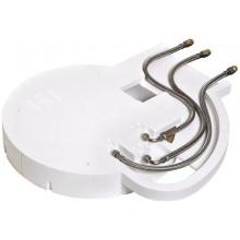 HANSGROHE RAINDANCE základné teleso 600mm pre hlavovú sprchu, biela