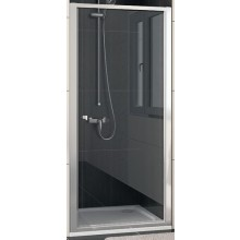 SANSWISS ECO LINE ECOP sprchové dvere 900x1900mm jednokrídlové, aluchrom/číre sklo