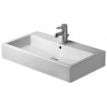 DURAVIT VERO umývadlo do nábytku 800x470mm s prepadom, 3 otvory, biela/WonderGliss 04548000301