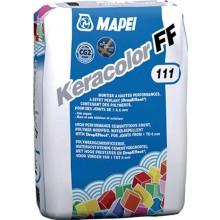 MAPEI KERACOLOR FF škárovacia hmota 5kg, cementová, hladká, 111 striebrosivá