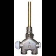 """HERZ VUA-40 radiátorový ventil 1/2"""" priamy, štvorcestný, pre jednorúrkové sústavy"""