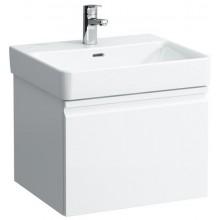 LAUFEN PRO S skrinka pod umývadlo 520x450x392mm, so zásuvkou a vnútornou zásuvkou, biela lesk