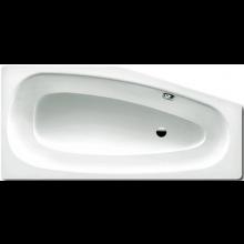 KALDEWEI MINI 836 vaňa 1570x700x430mm, ľavá, oceľová, asymetrická, biela Perl Effekt