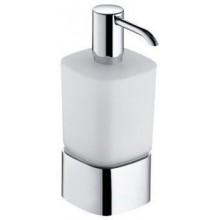 KEUCO ELEGANCE dávkovač na penové mydlo 220ml, s držiakom, chróm/matné sklo