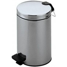 KEUCO odpadkový kôš 5l, oceľ/chróm
